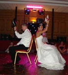 Wedding disco at La Mon Hotel