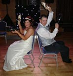 Wedding disco at Ross Park